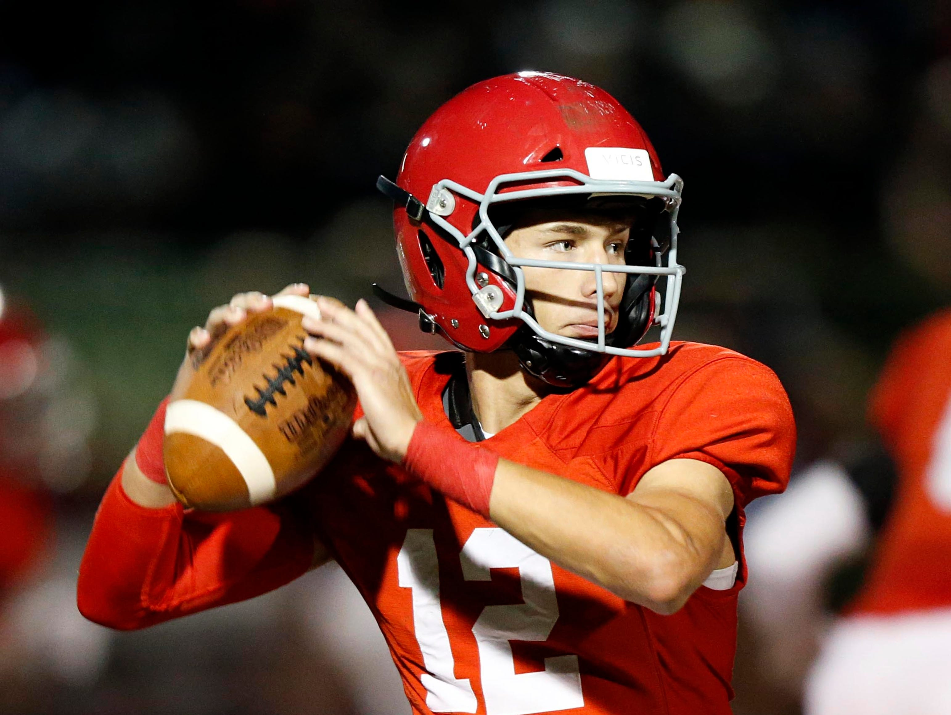 12. Brentwood Academy (9-2) beat Christian Brothers, 21-14.