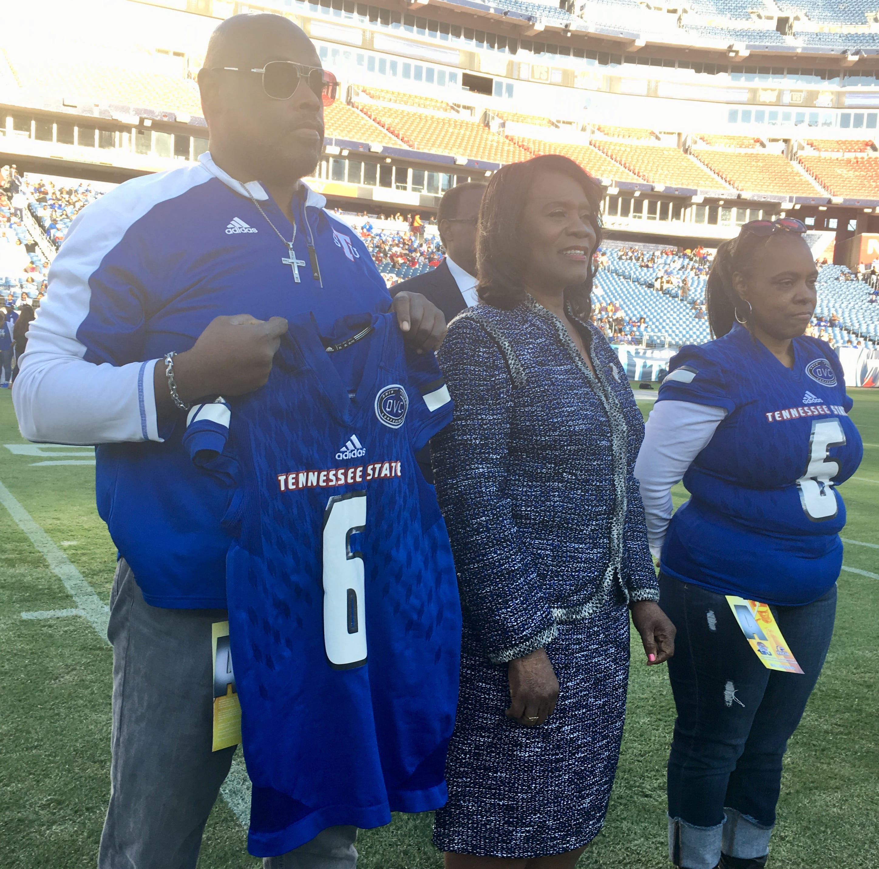 Mom of injured TSU player Christion Abercrombie sends message to team