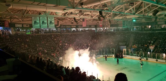Everblades banners