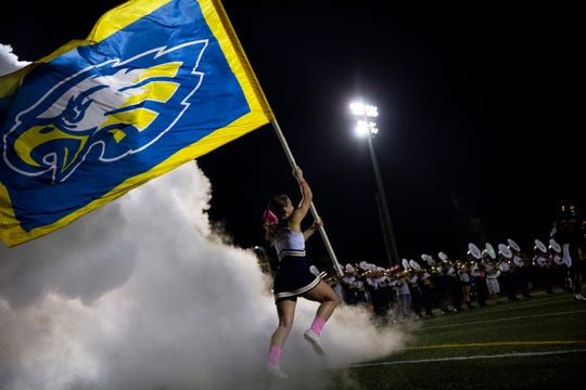 The Naples High School football team beat South Fort Myers High School 63-0 on Friday, Oct. 19, 2018, at Naples High School in Naples.