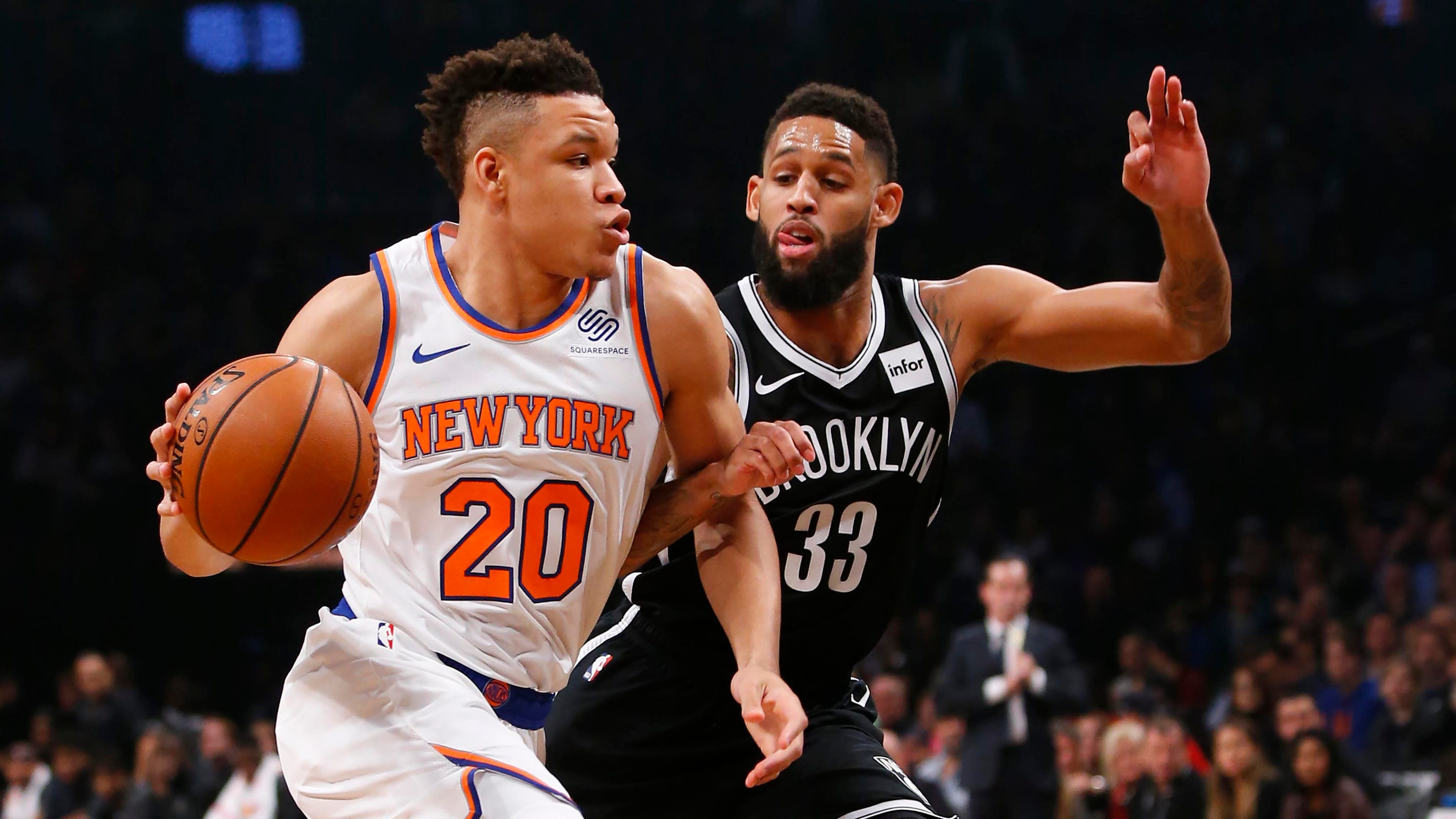 buy online 0098c b1bc7 New York Knicks: Kevin Knox scores 17 points in loss to ...