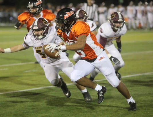 Park Ridge Vs Hasbrouck Heights Football