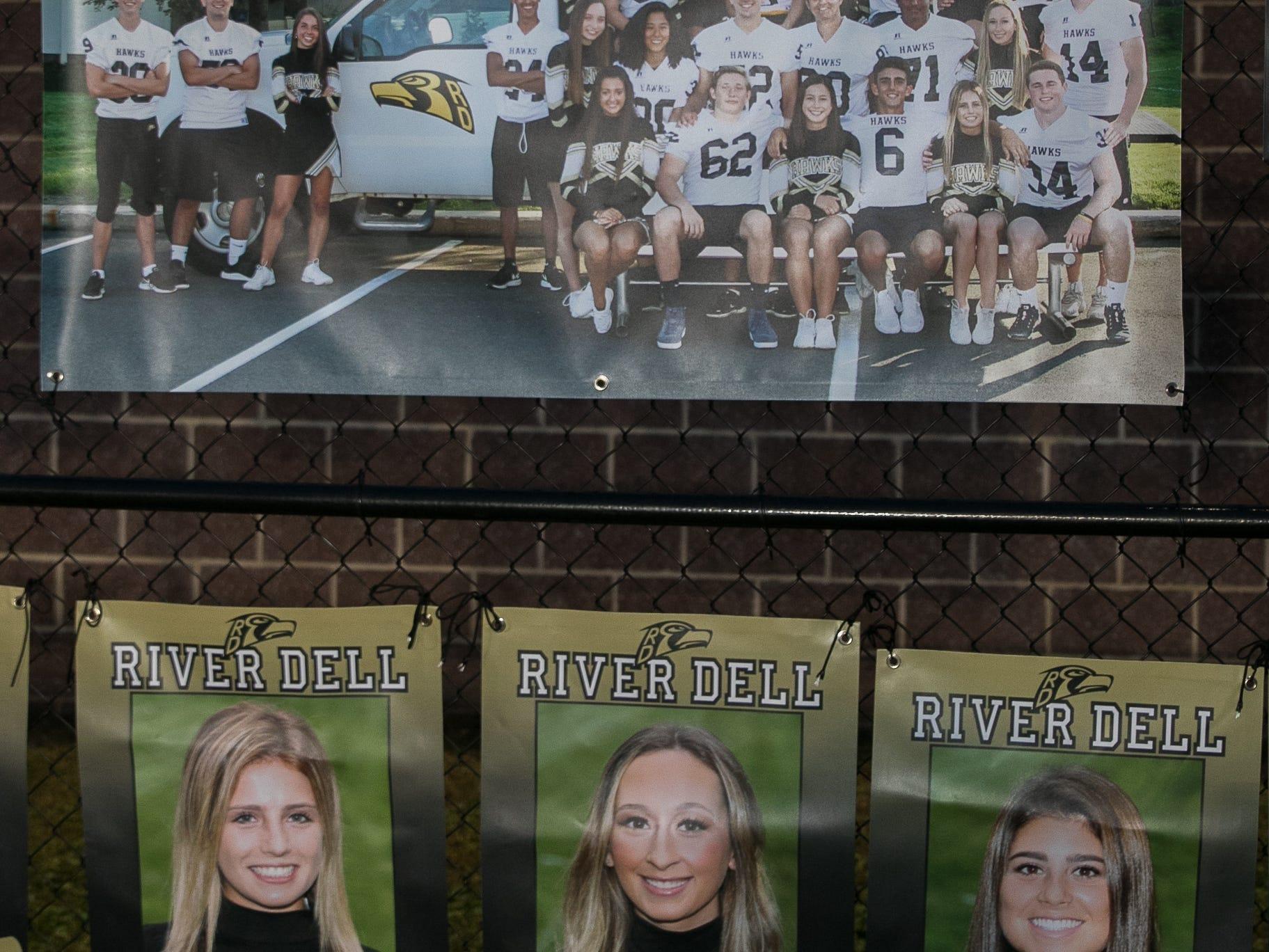 Fans at the Paramus High School versus River Dell High School Football game held at River Dell High School. 10/19/2018