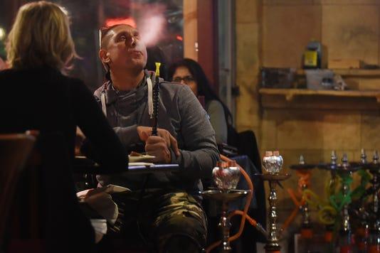 Hookah Smoking At Kamil's