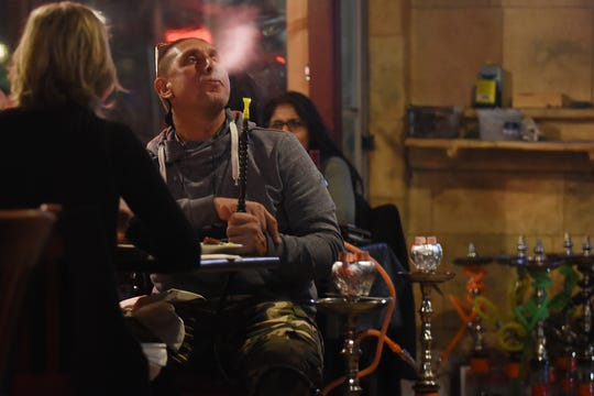 Kamil's is one of the restaurants licensed to have hookahs in Clifton. Shown on Friday October 19, 2018.
