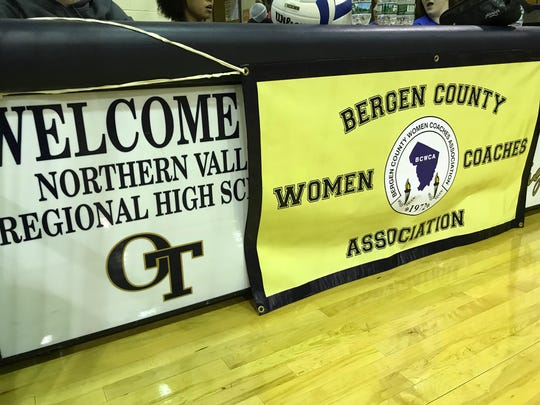 NV/Old Tappan hosts the 2018 Bergen County girls volleyball, tournament, sponsored by the Bergen County Women Coaches Association.
