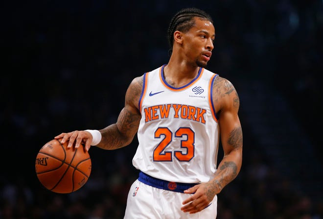 Guard Trey Burke and the Knicks have suffered some tough losses this season where they've led late, only to see it disappear.