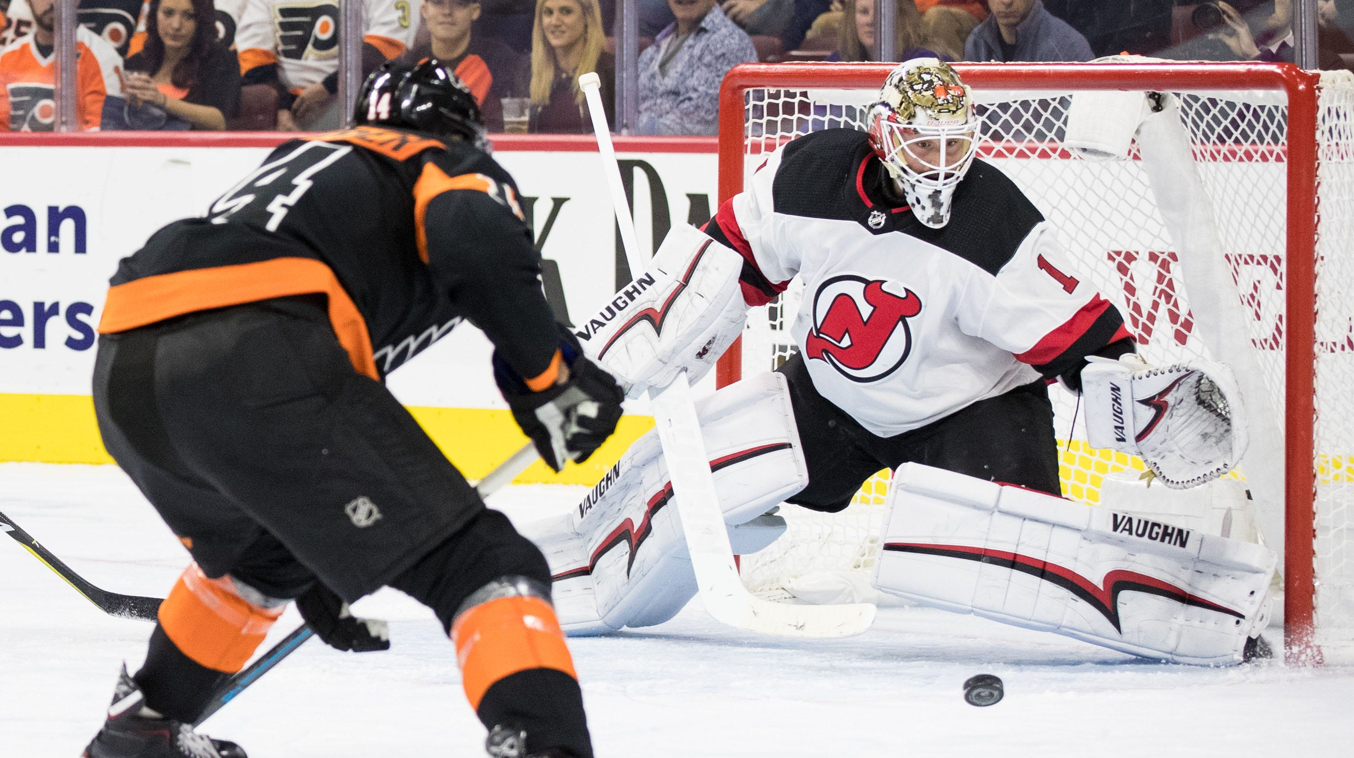 Devils got 'punched in the face' by Flyers in second straight loss