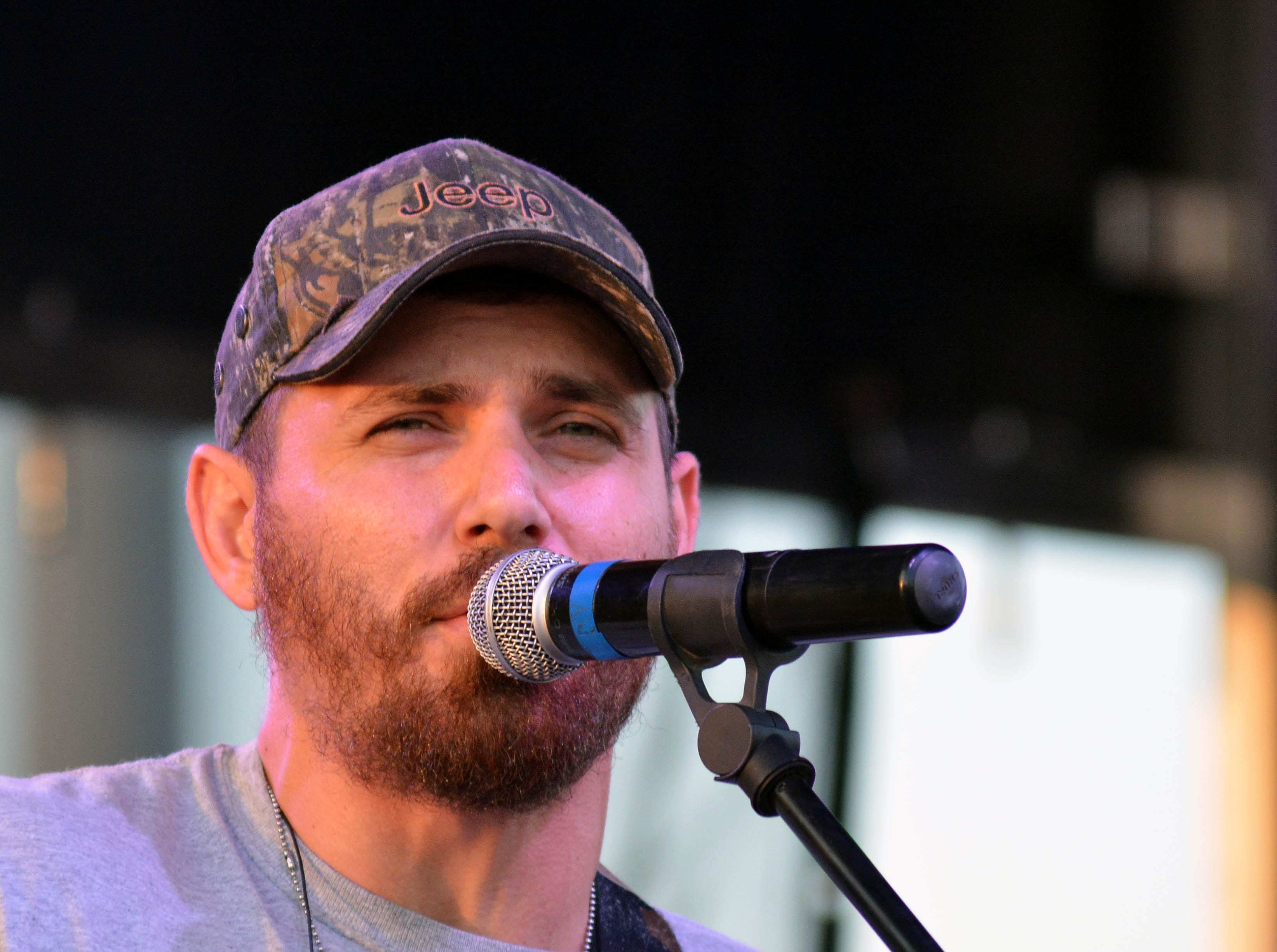 Vince Alten and The Riff Raff take the stage at the Las Cruces Country Music Festival on Friday, Oct. 19, 2018.