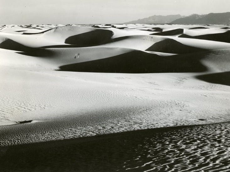 Pavla Blanca, or the ghost of the White Sands, has been seen flying over and onto the dunes at White Sands National Monument — according to legend, that is.