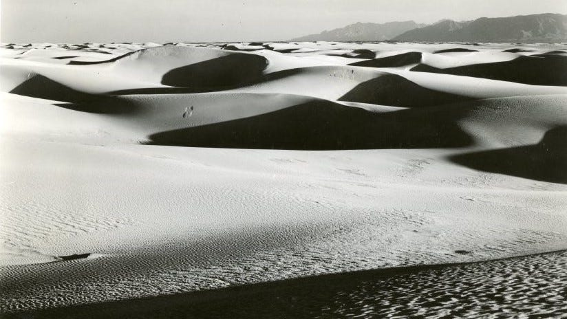 Pavla Blanca, or the ghost of the White Sands, has been seen flying over and onto the dunes at White Sands National Monument. According to legend that is.
