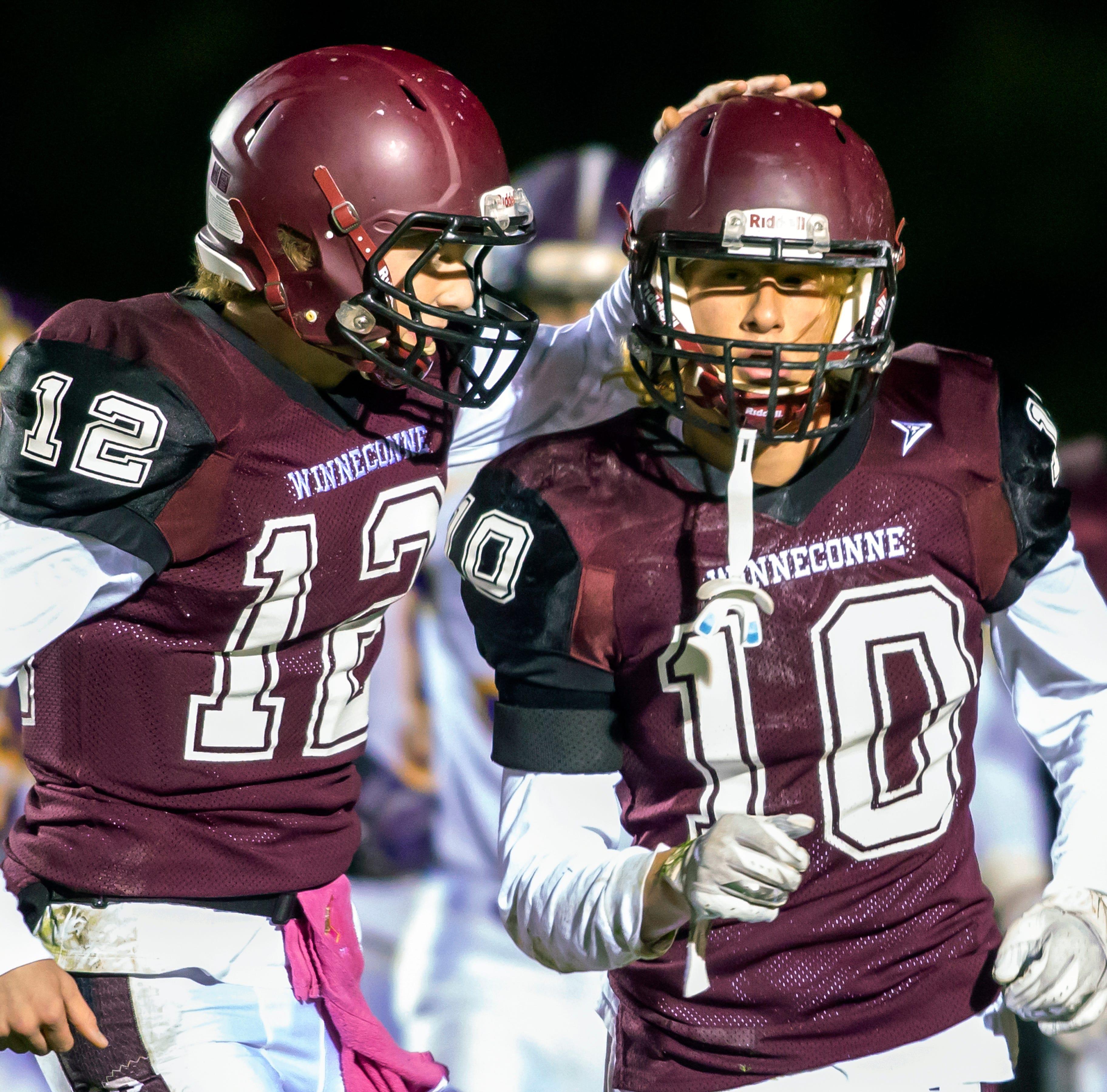 High school football: Winneconne 23, Two Rivers 17