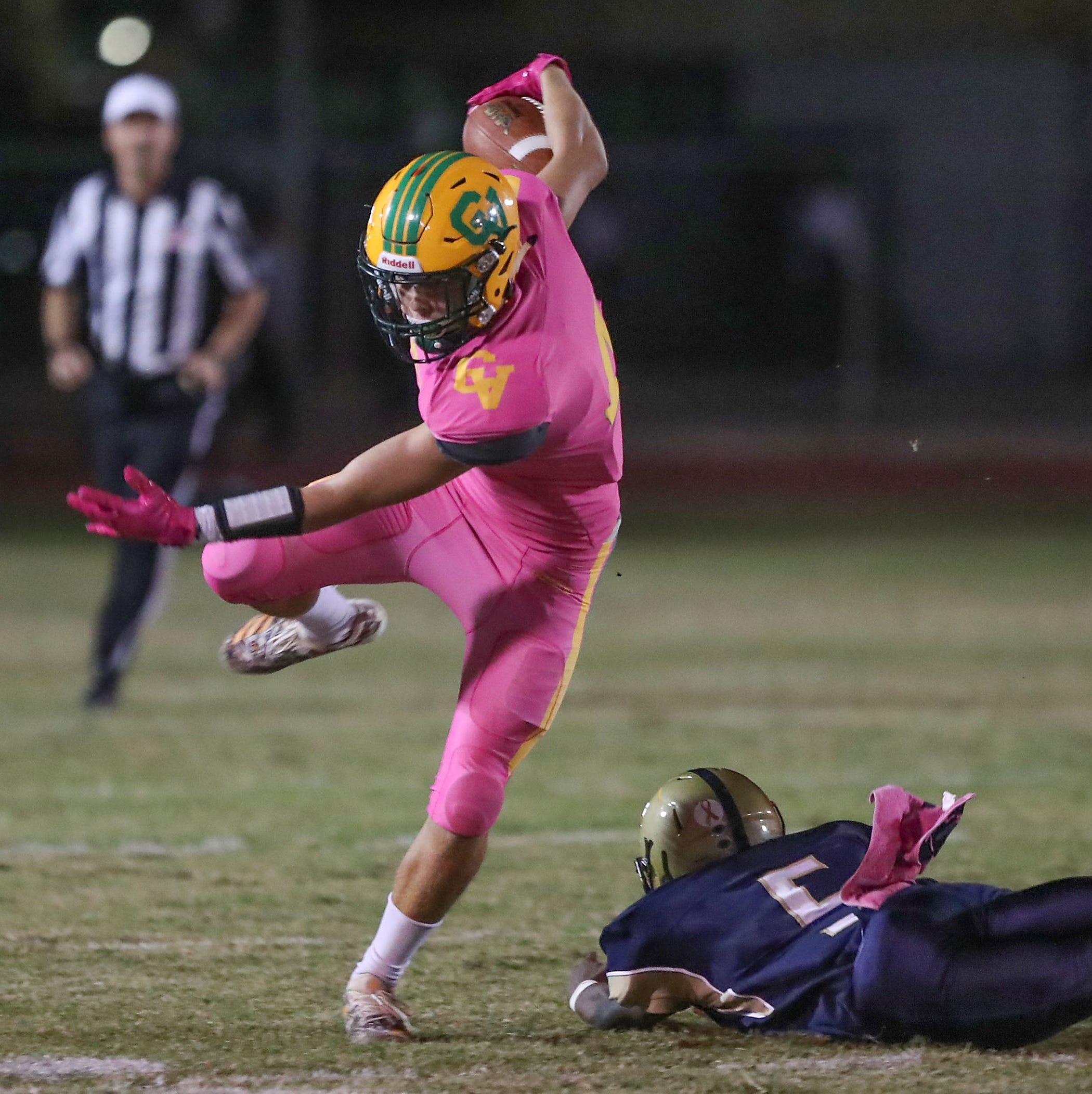 Donny Fitzgerald makes history; Arabs clinch a share of DVL title