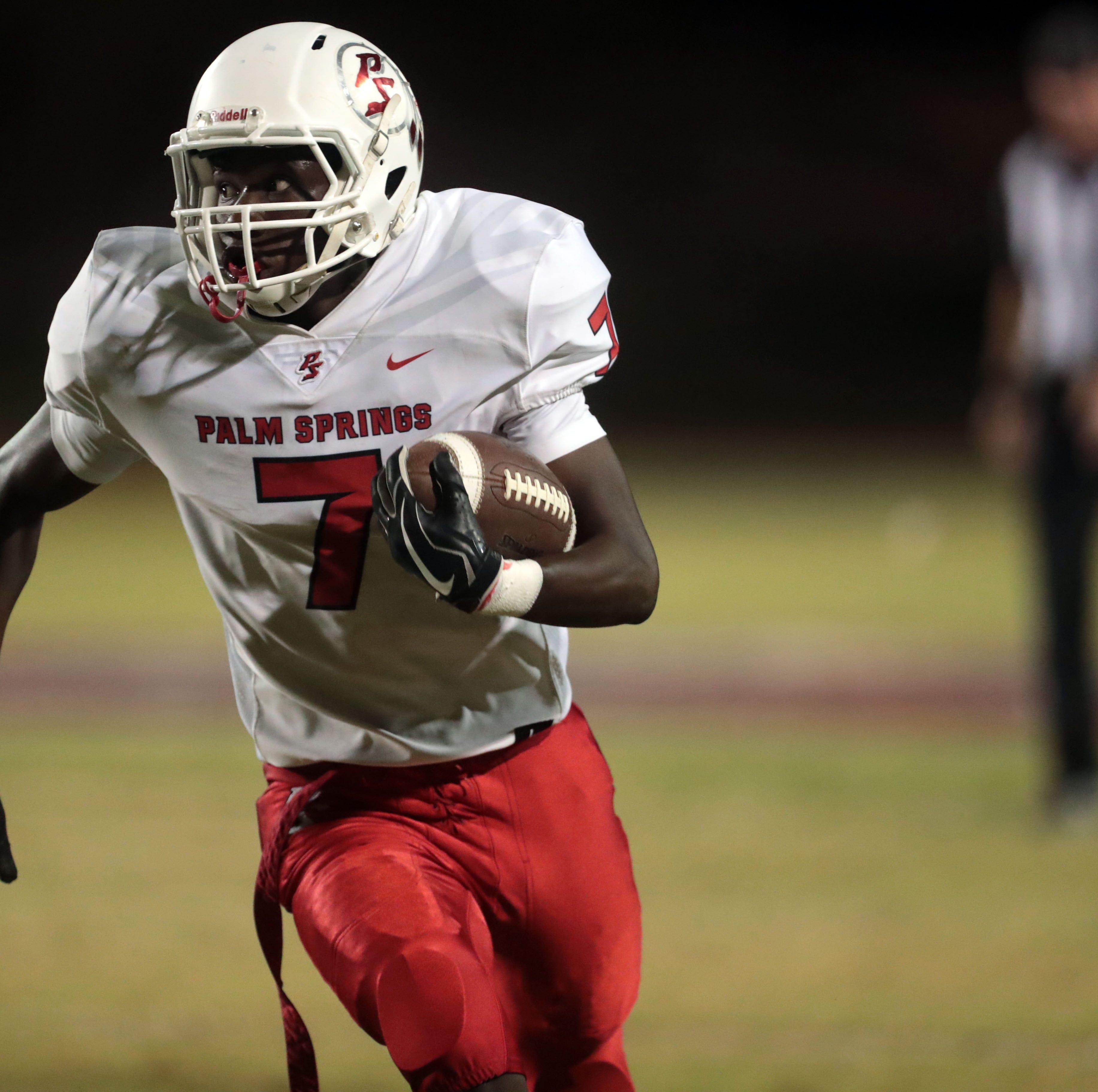 Friday's high school football scores: Coachella Valley, Palm Desert earn big wins