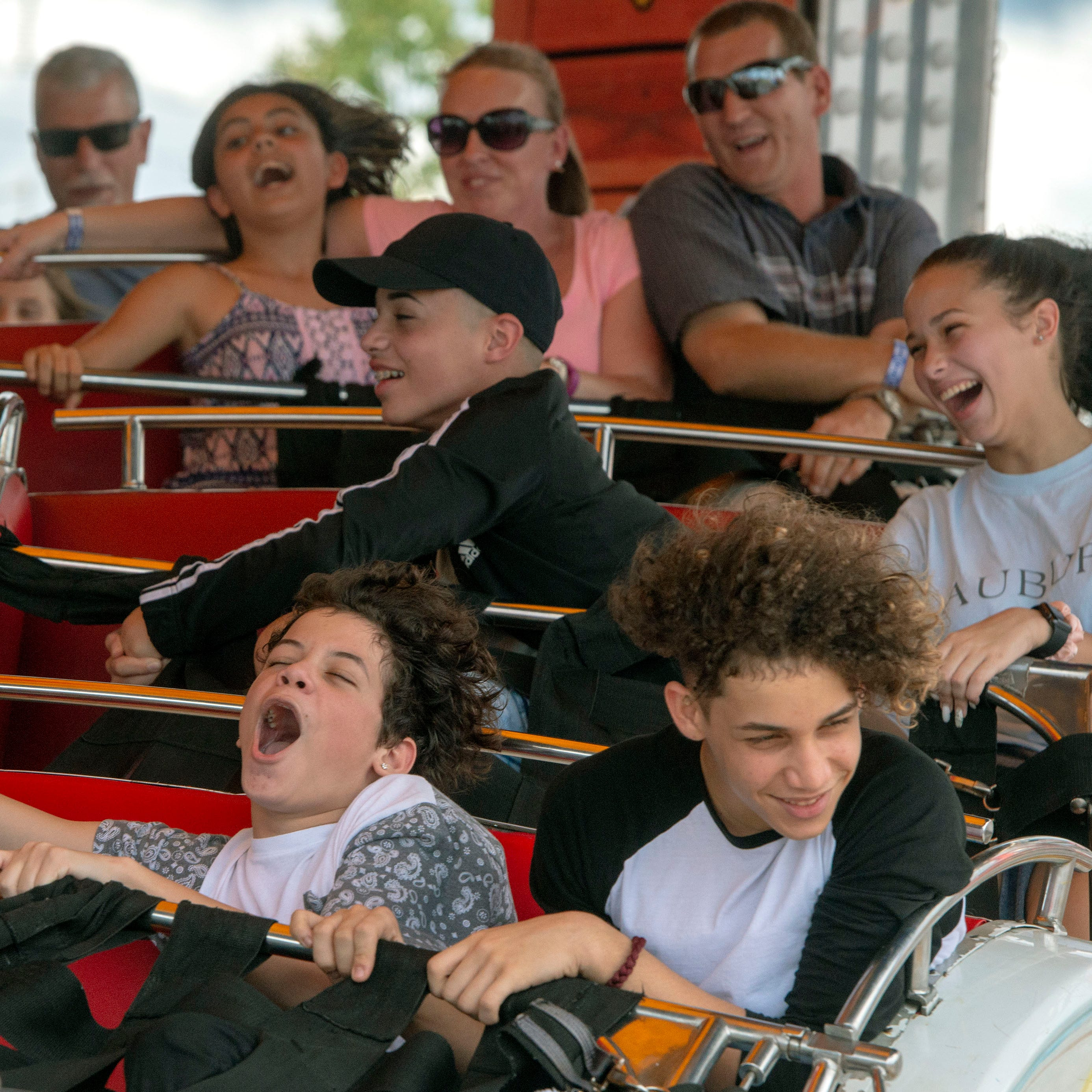 PHOTOS:Pensacola Interstate Fair brings thrills and chills Saturday