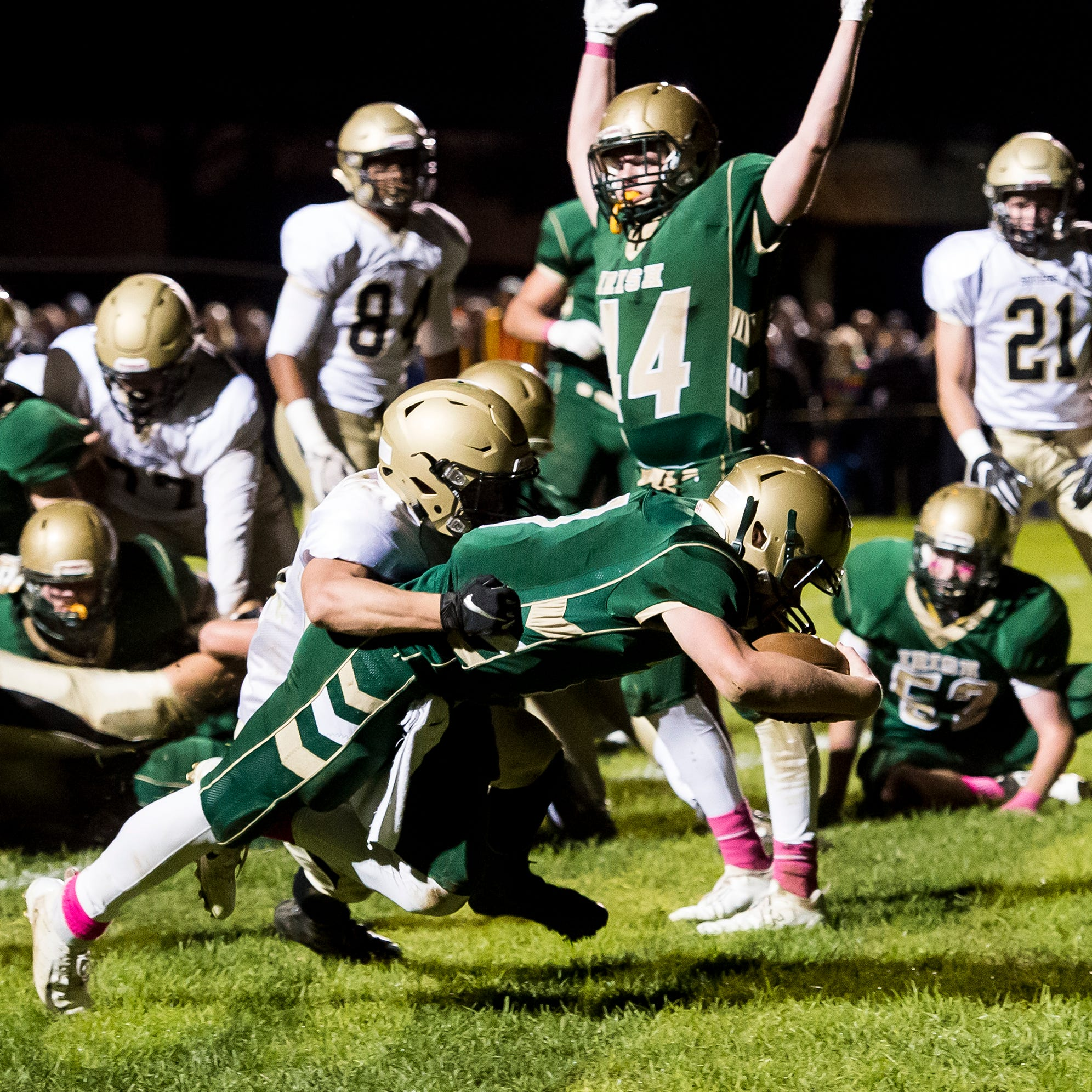 York Catholic crushes Delone to three-peat as Division III champions
