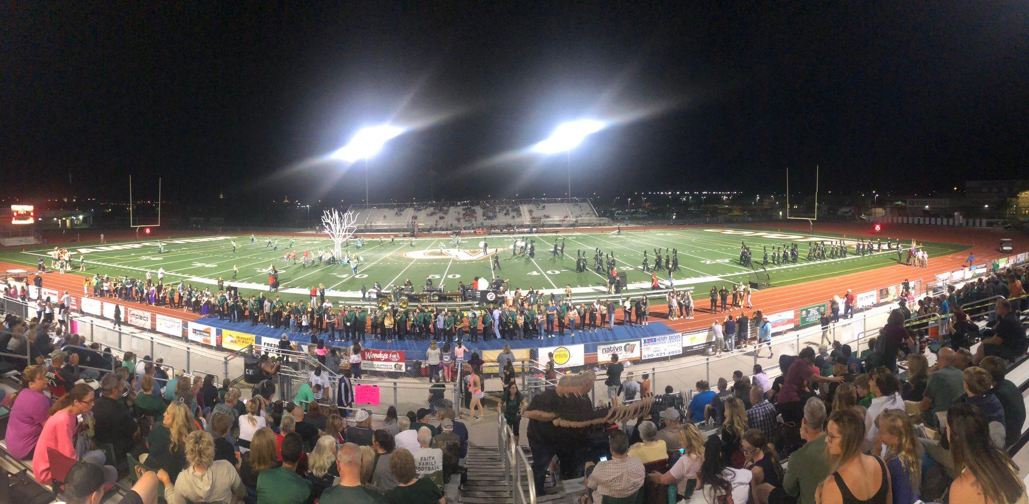 Arizona high school football scores Week 10