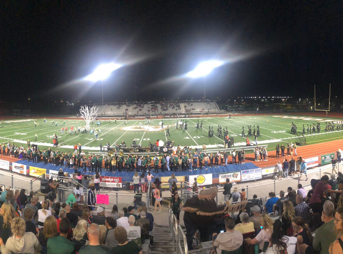 Campo Verde hosted Gilbert rival Williams Field on Friday, Oct. 19, 2018.