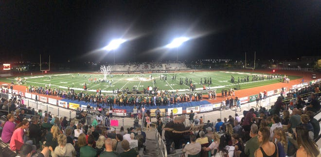 Gilbert Campo  Verde High School is hosting the 2A and 3A state finals on Friday, Nov. 23, 2018.
