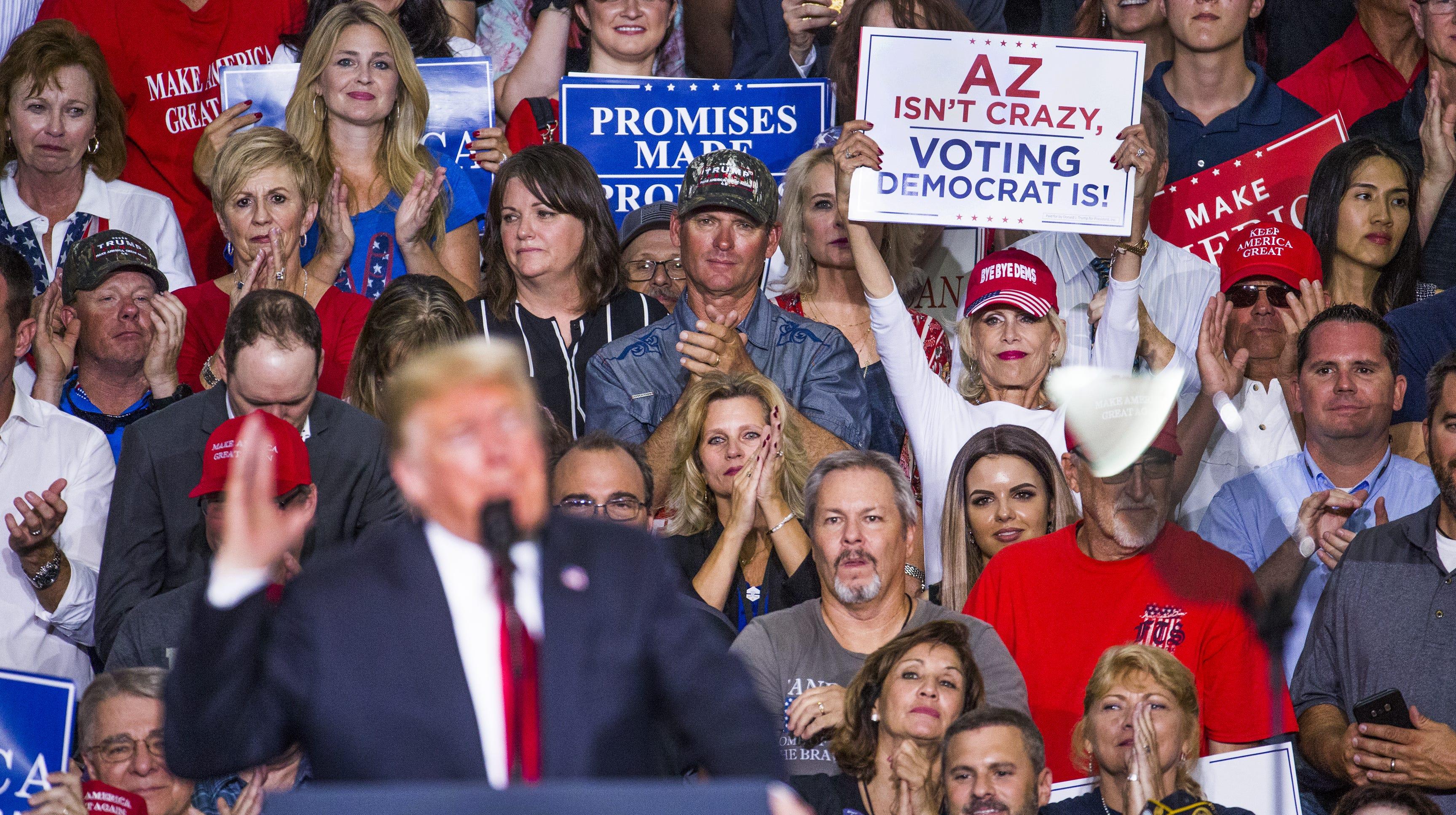 Donald Trump on Arizona: Immigration, Wyatt Earp and 'beautiful women'
