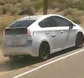 Maricopa County sheriff's deputies were looking for the driver of a Toyota Prius who left the scene of a head-on collision Thursday on Wintersburg Road, south of Van Buren Street, near Tonopah.