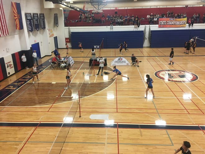 Xavier College prep and Sunnyslope won the 2018 state badminton titles.