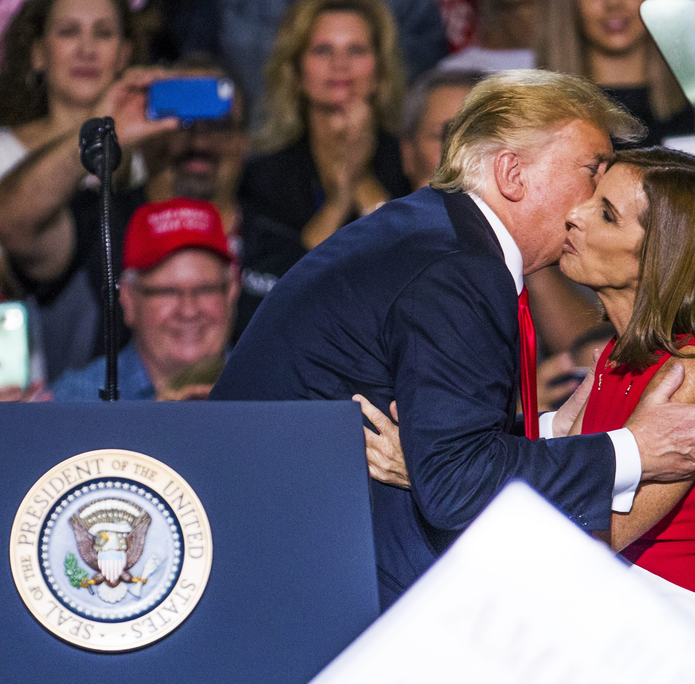 Martha McSally's mistake? Kissing up to Donald Trump