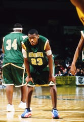 LeBron James made the jump from  St. Vincent-St. Mary High School in Akron, Ohio to the NBA in 2003.