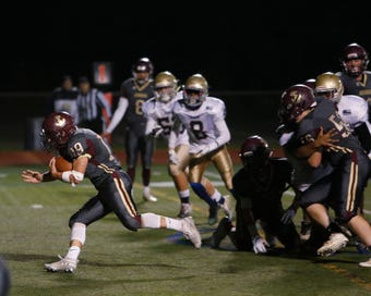 Arlington Football defeats Yonkers Force in Friday night's game.