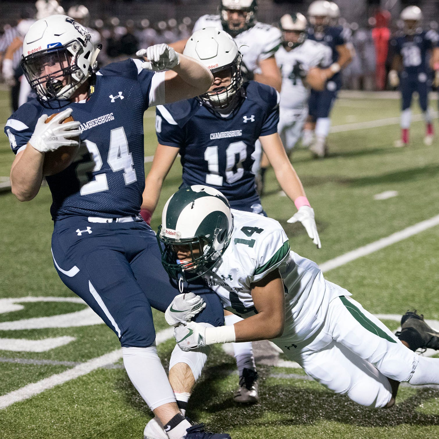 Quick hits: Chambersburg suffers second-straight loss in Central Dauphin rout