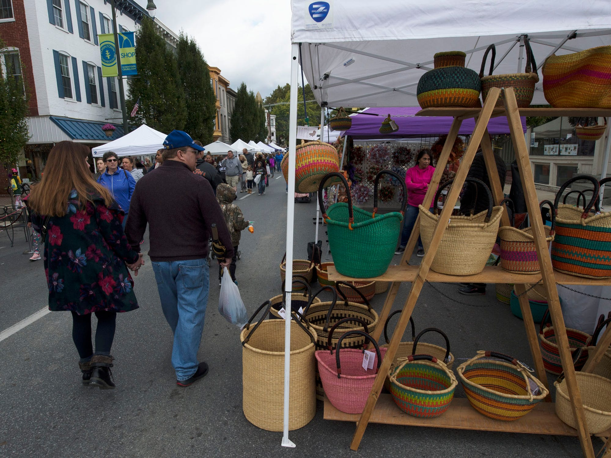 Applefest started Saturday morning October 20, 2018 in downtown Chambersburg.