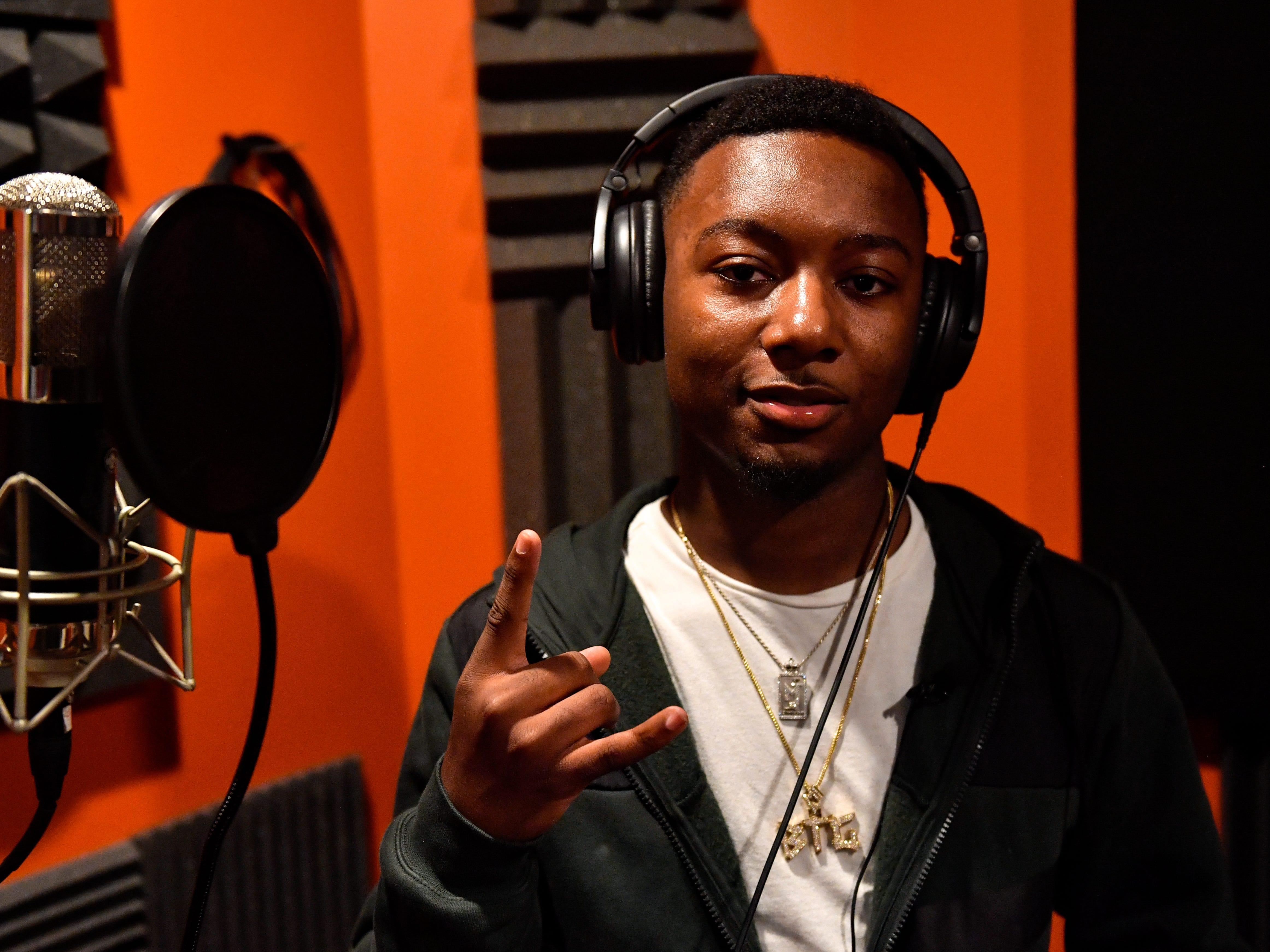 De'Andre Cox, aka BTG Dre, is a promising 17-year-old rapper from West Baltimore. He moved to York County for a better life and raps about his experiences and goals.