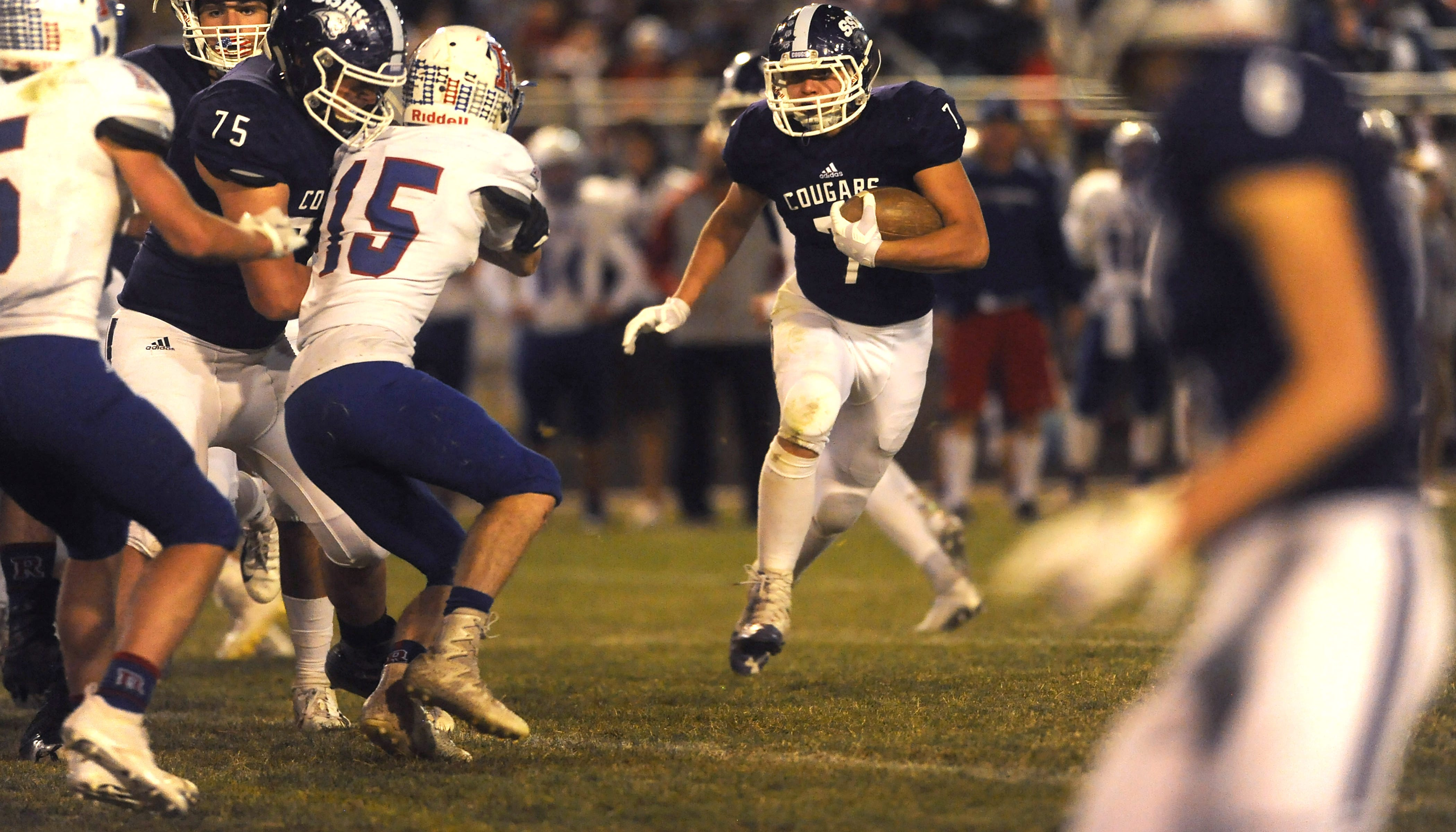 Prep football: Damonte Ranch, Spanish Springs in control in league races