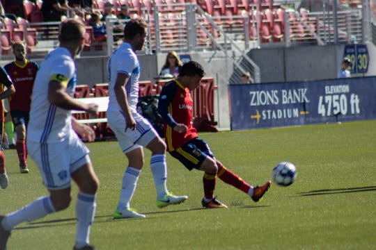 Reno 1868 FC beat the Real Monarchs SLC 1-0 in extra time in the USL Playoffs in Utah on Saturday.