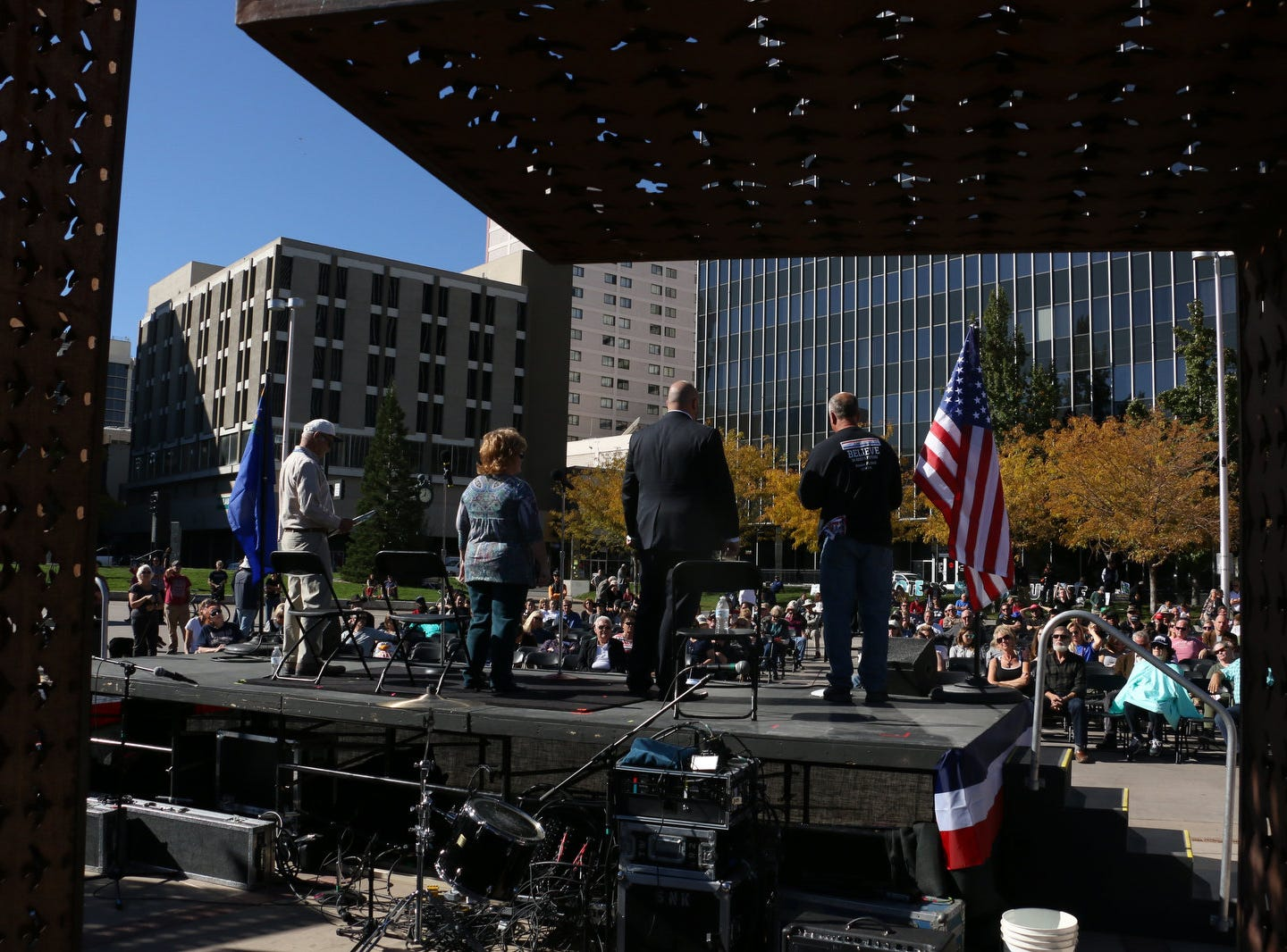 The RenoElections.org public debate at City Plaza in Reno on Oct. 20, 2018.