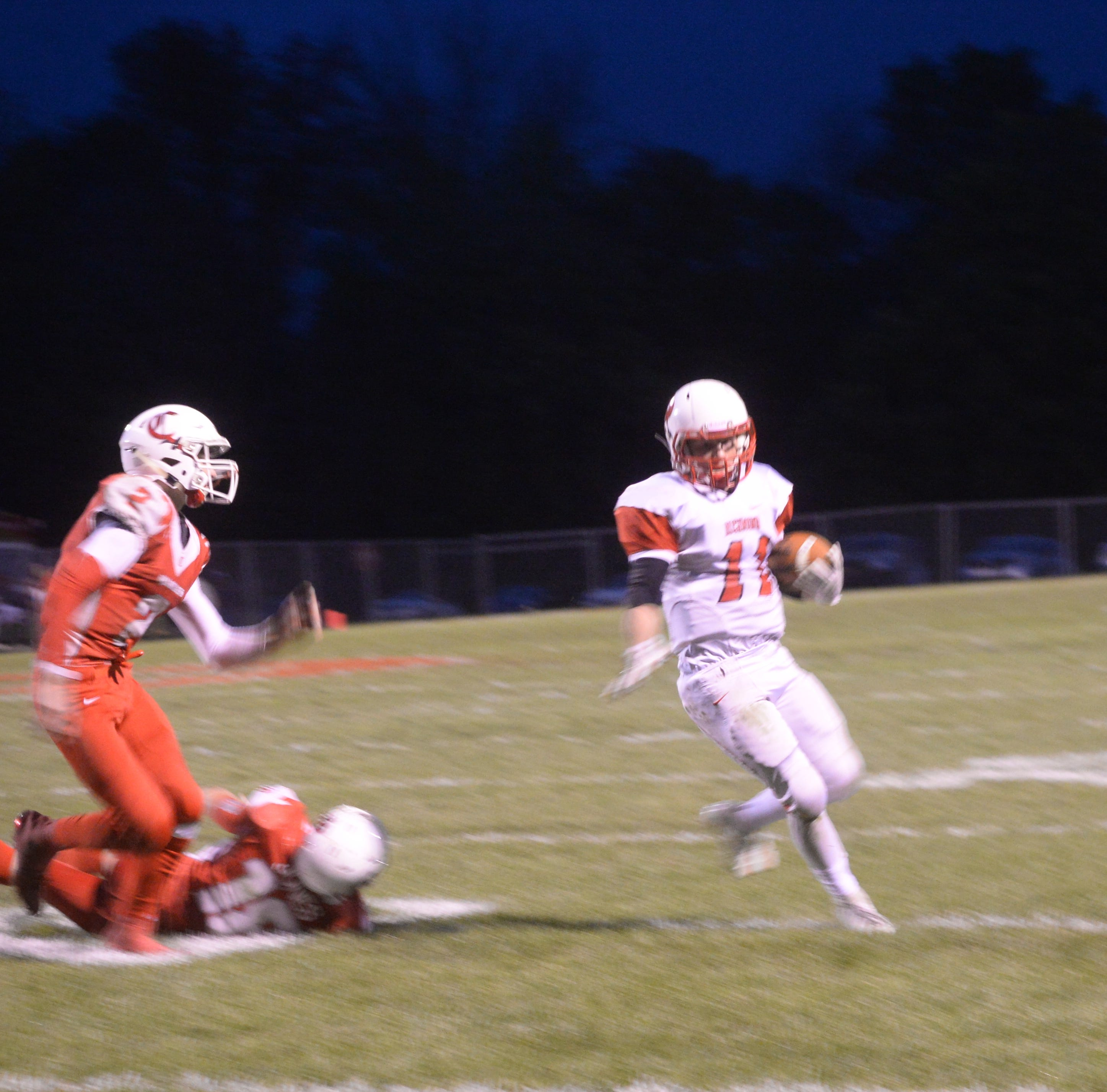 Red Devil's return from injury keys Richmond's sectional football win over Connersville
