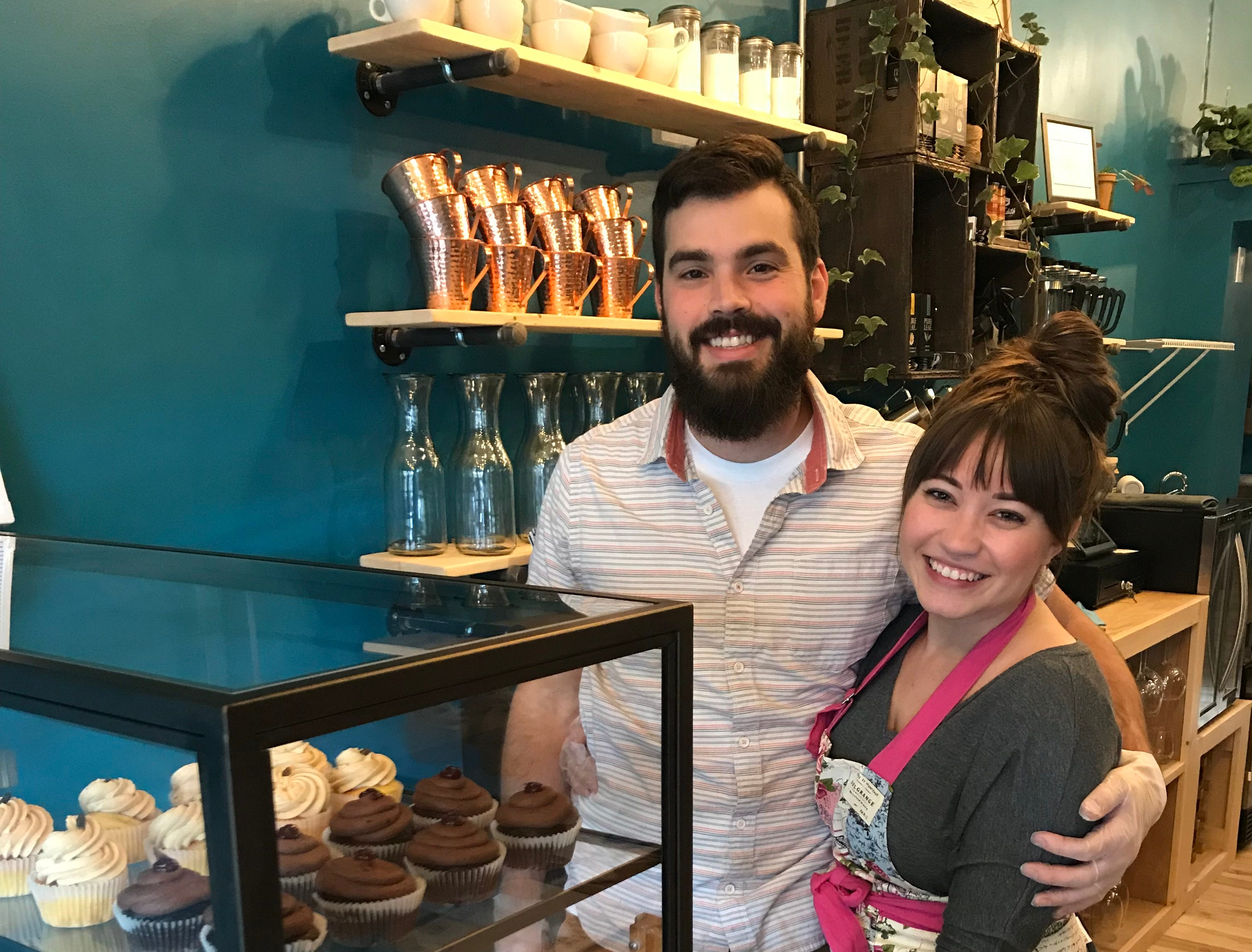 Mark Mendola and Haley Shuman are the owners of Caramel Bakery and Bar.