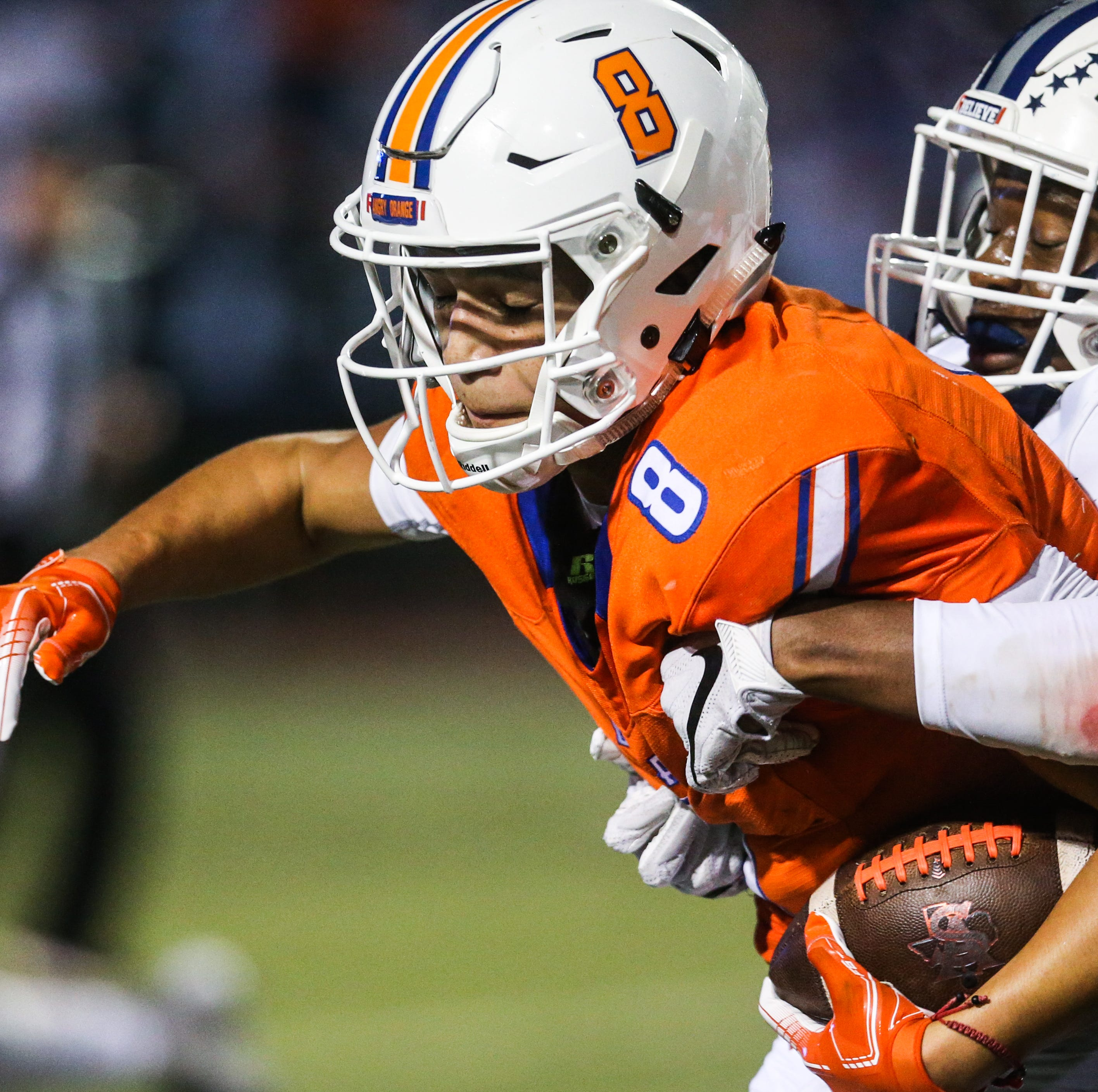 San Angelo Central QB runs for 338 yards in win