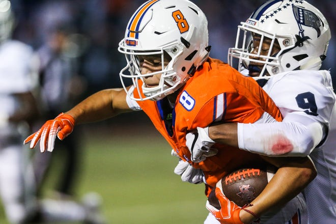 San Angelo Central sophomore quarterback Malachi Brown will try to help the Bobcats earn a share of the District 3-6A title with a home at home against No. 12 Fort Worth Haltom on Friday.