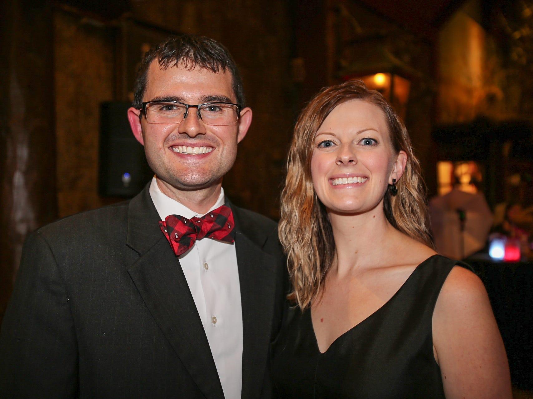 Zach and Lindsey Swartz