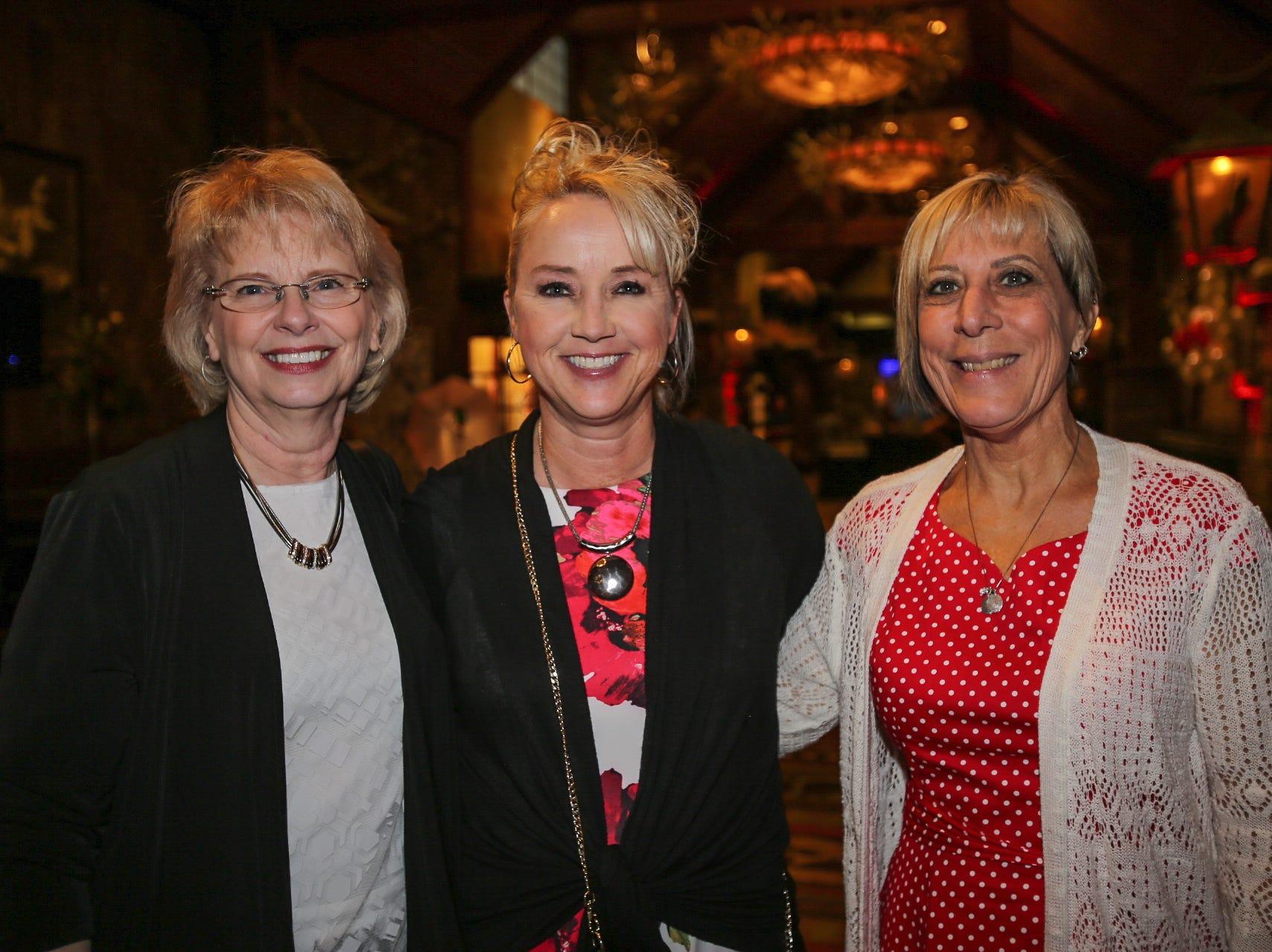 Debbie Corlett, Lisa Vest, and Kim Woll