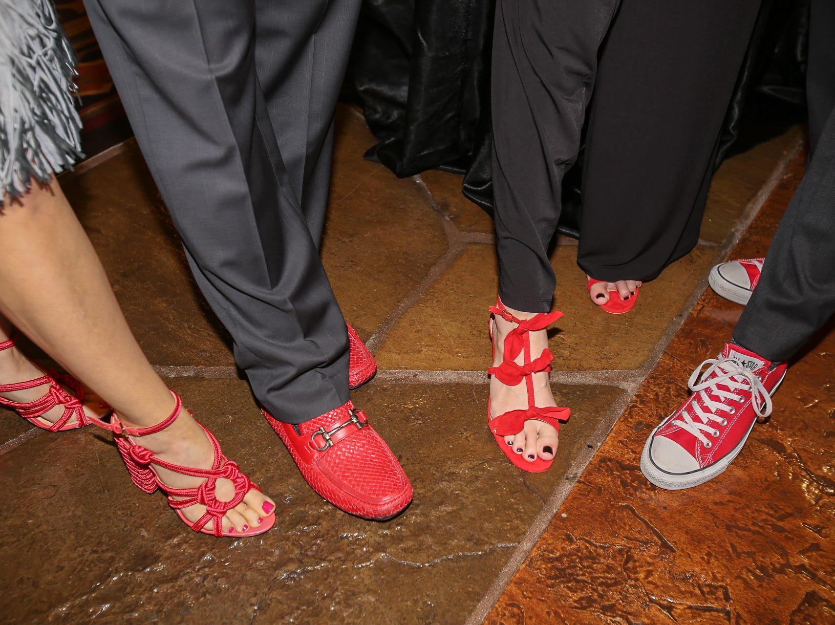 Shoes at the Red Shoe Gala