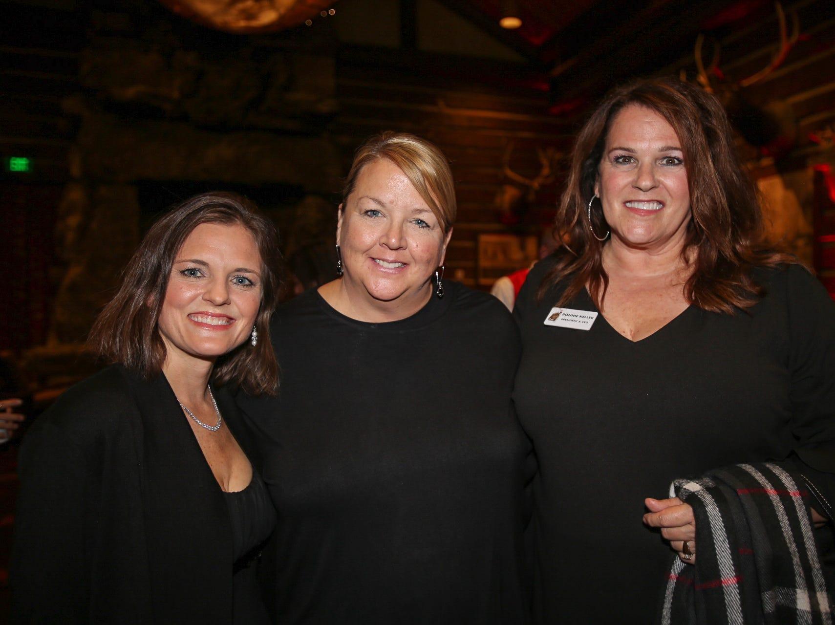 Mindy Munoz, Debbie Kinser, and Bonnie Keller