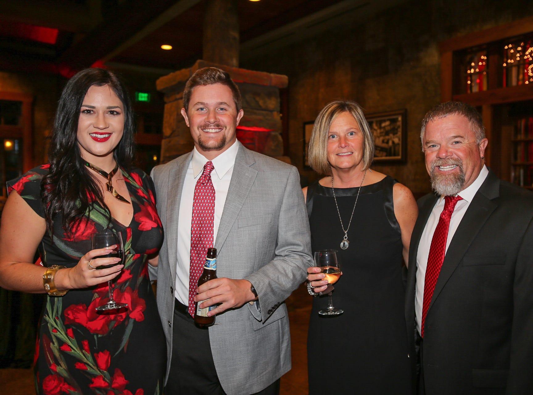 Kristen Bergen and Andy, Cindy, and Scott Liedenguth