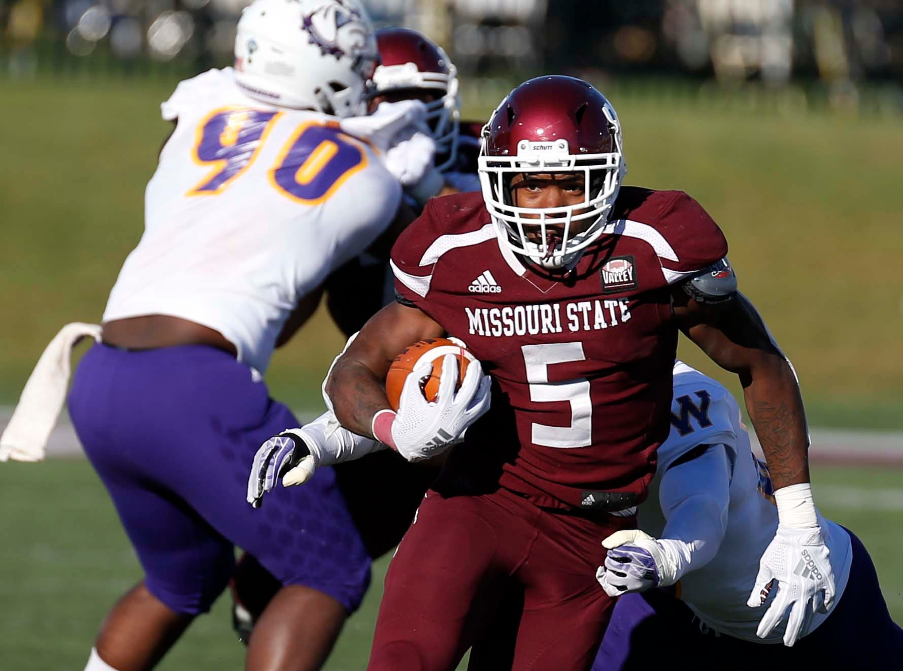 Missouri State against Western Illinois at Plaster Field in Springfield on Oct. 20, 2018.