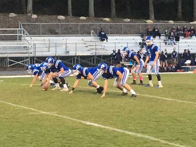 Fort Defiance warms up prior to Friday night's game against Harrisonburg.