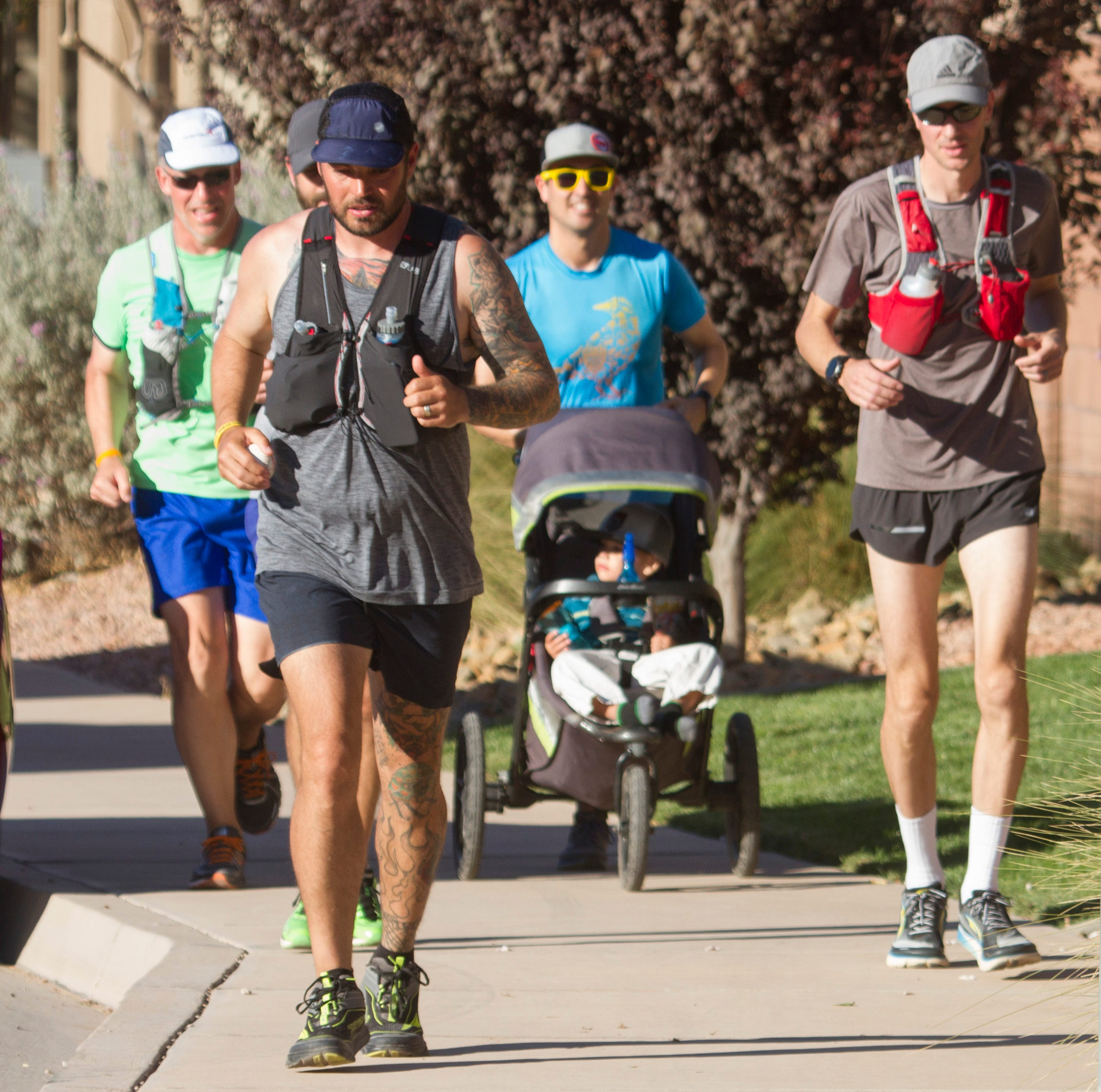 Runner treks 426 miles across Utah to raise awareness and fight human trafficking