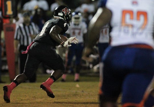 NFC running back Deon Cosby ran for 133 yards and a 19-yard touchdown in a 28-13 win over Jefferson County on Friday.