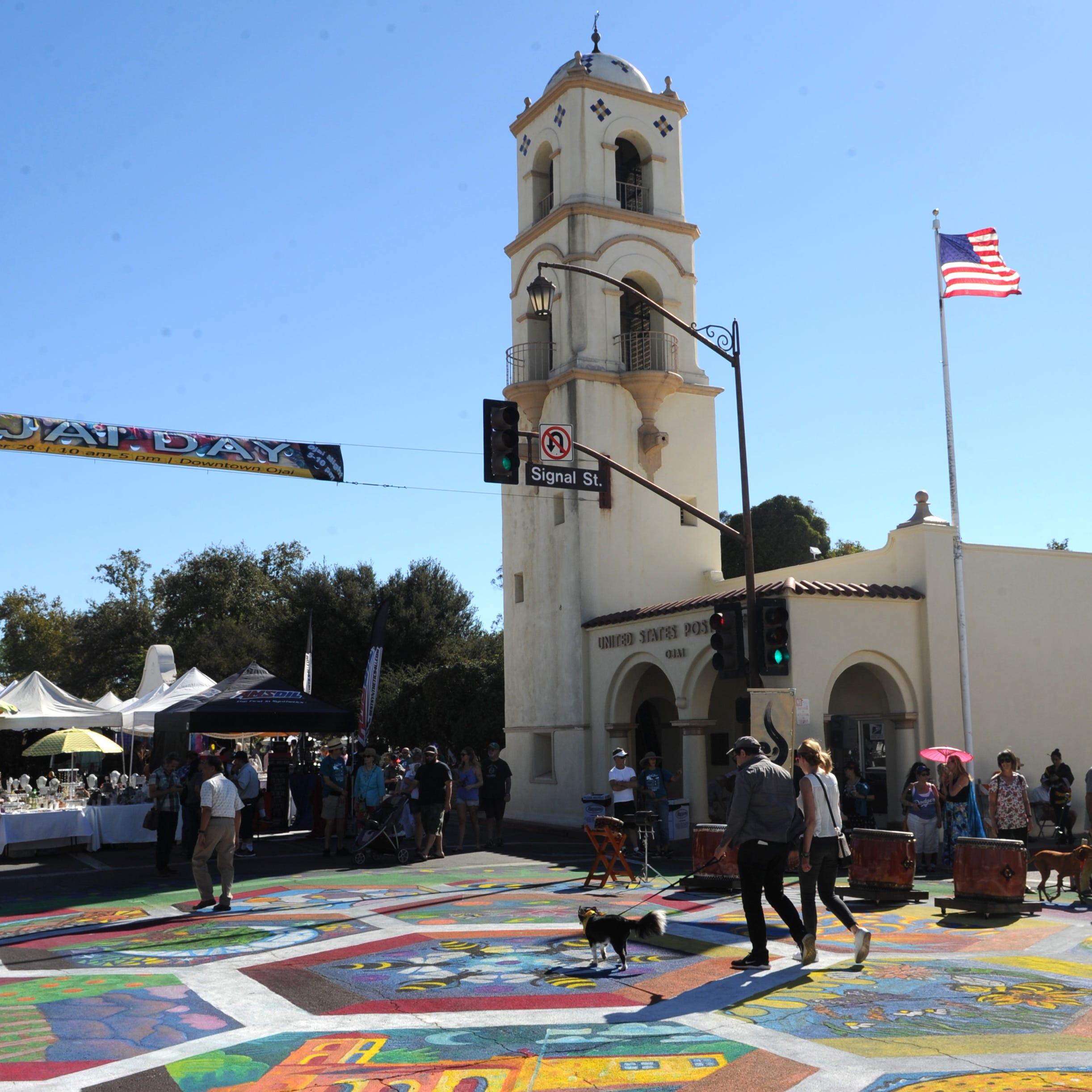 Ojai Day is an annual street fair in downtown Ojai that draws plenty of crowds.