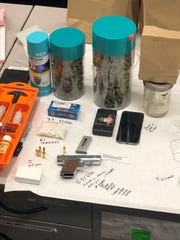 Details of items seized by Oxnard police after a teen was arrested Friday.